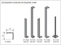 DEEPLAS PROFILÉ DE JONCTION P1158 GRIS ANTHRACITE 6072